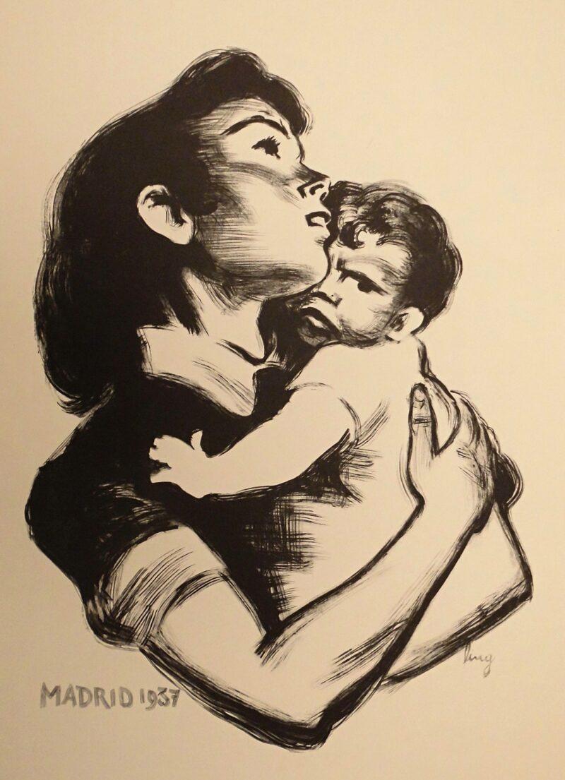 """Abbildung von """"(Mutter mit Kind)"""""""
