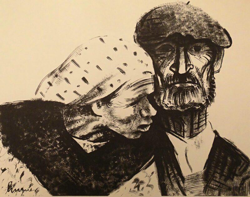 """Abbildung 1: """"Pyrenäen-Bauern"""" von Max Lingner"""