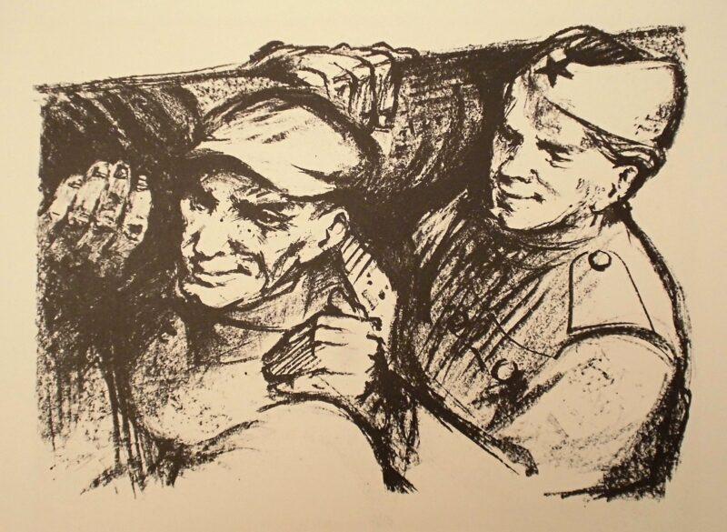 """Abbildung 1: """"Wiederaufbau"""" von Kurt Zimmermann"""
