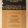 """""""Deutsche Festspiele 1956 Fidelio"""" von Autor Unbekannt (Abbildung 2)"""