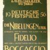"""""""Deutsche Festspiele 1956 Die Nibelungen 1.Teil Fidelio Bocaccio"""" von Autor Unbekannt (Abbildung 2)"""