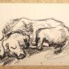 """""""Schlafender Hund"""" von Volker Scharnefsky (Abbildung 2)"""