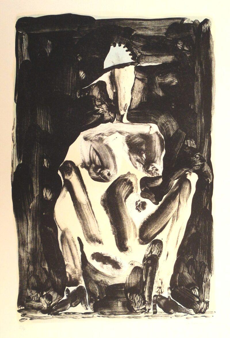 """Abbildung 1: """"Hockende"""" von Peter Dettmann"""