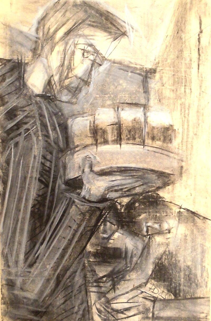 """Abbildung 1: """"Der Pilsettenbringer"""" von Peter Dettmann"""