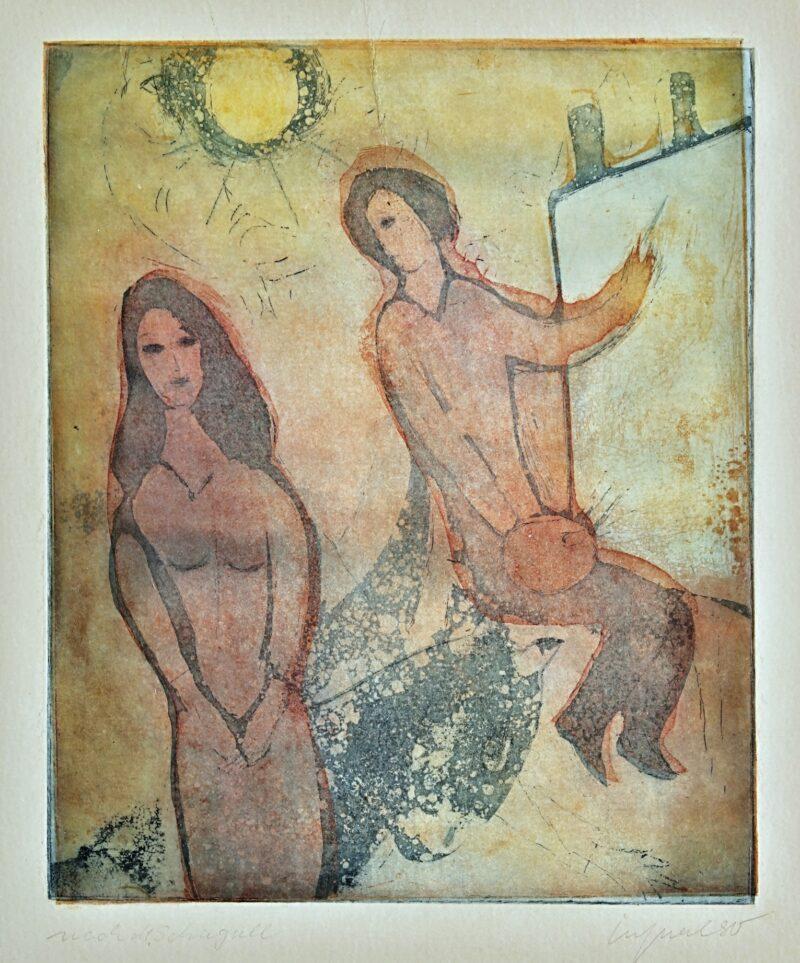 """Abbildung 1: """"(Maler und Modell)"""" von Peter Westphal"""