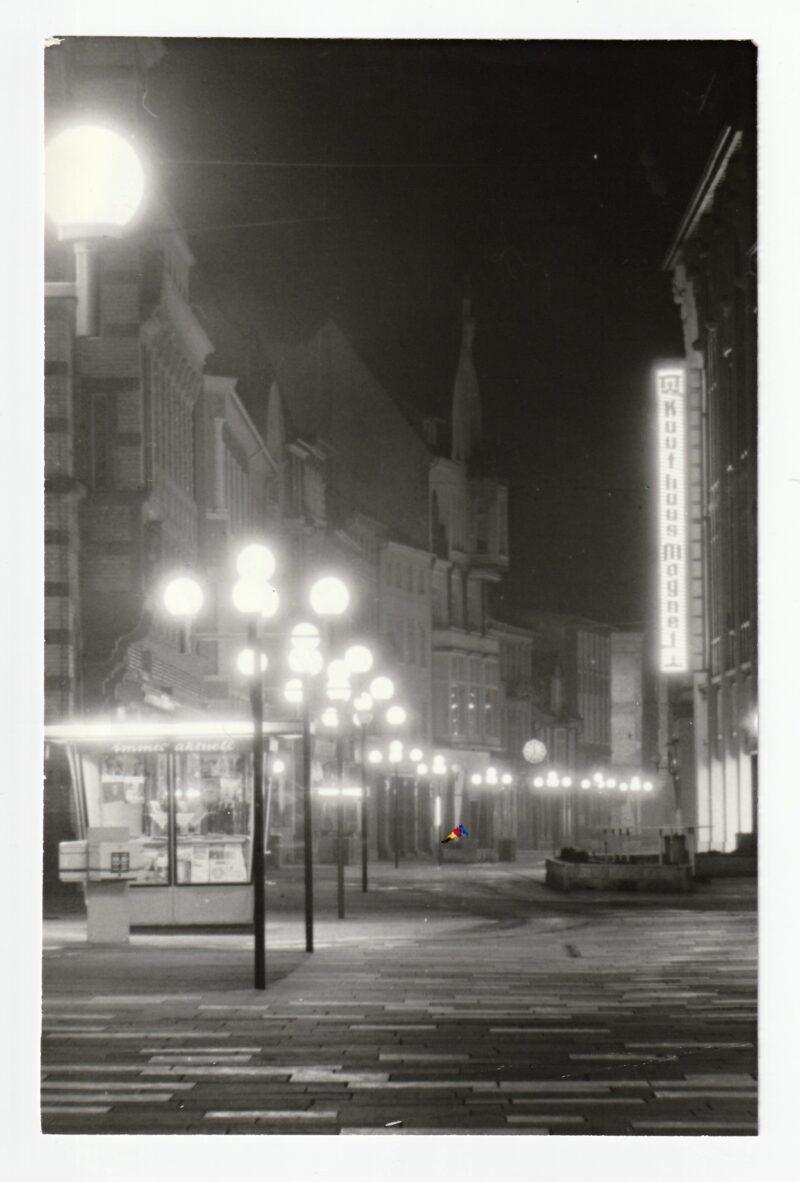 """Abbildung von """"Nacht in Schwerin III"""""""