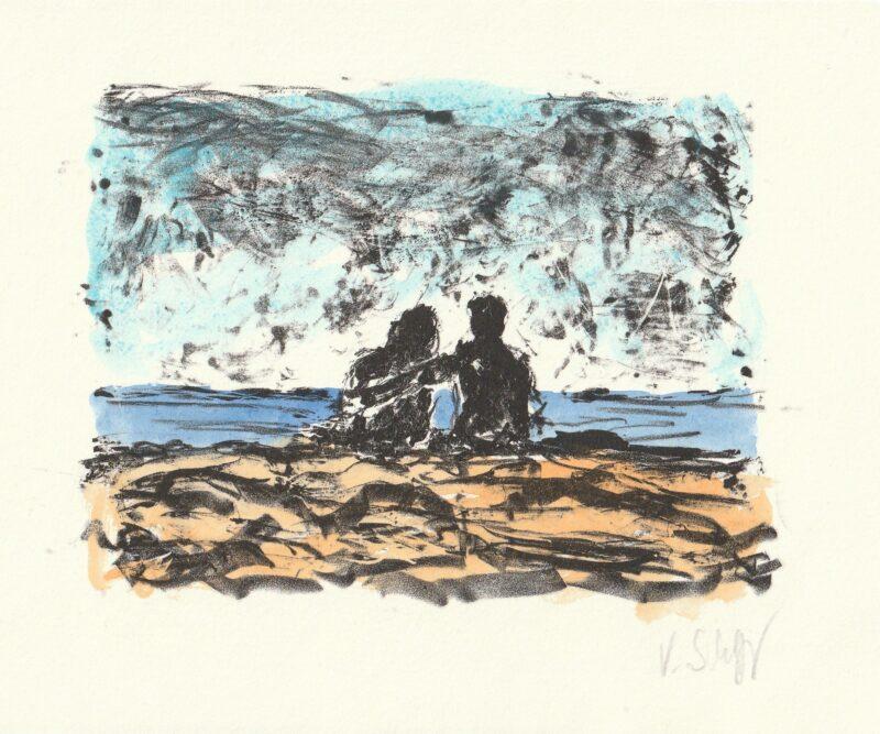 """Abbildung von """"Paar am Meer"""""""
