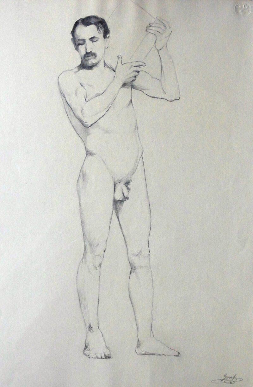 """Abbildung von """"Männlicher Akt (6923)"""""""