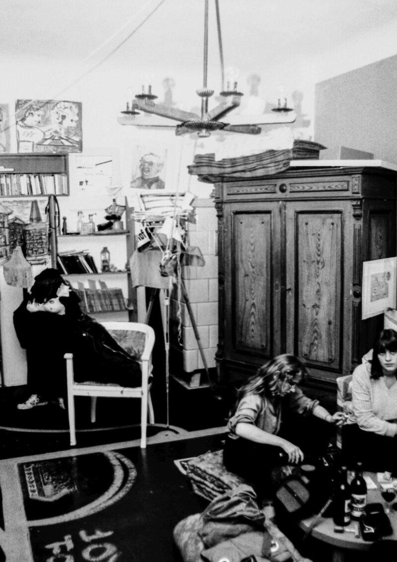 """Abbildung von """"Besuch im Atelier"""""""